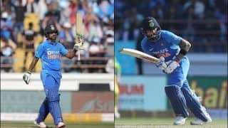 2nd ODI: Half-Centuries from Shikhar Dhawan, Virat Kohli And KL Rahul Power India to 340/6